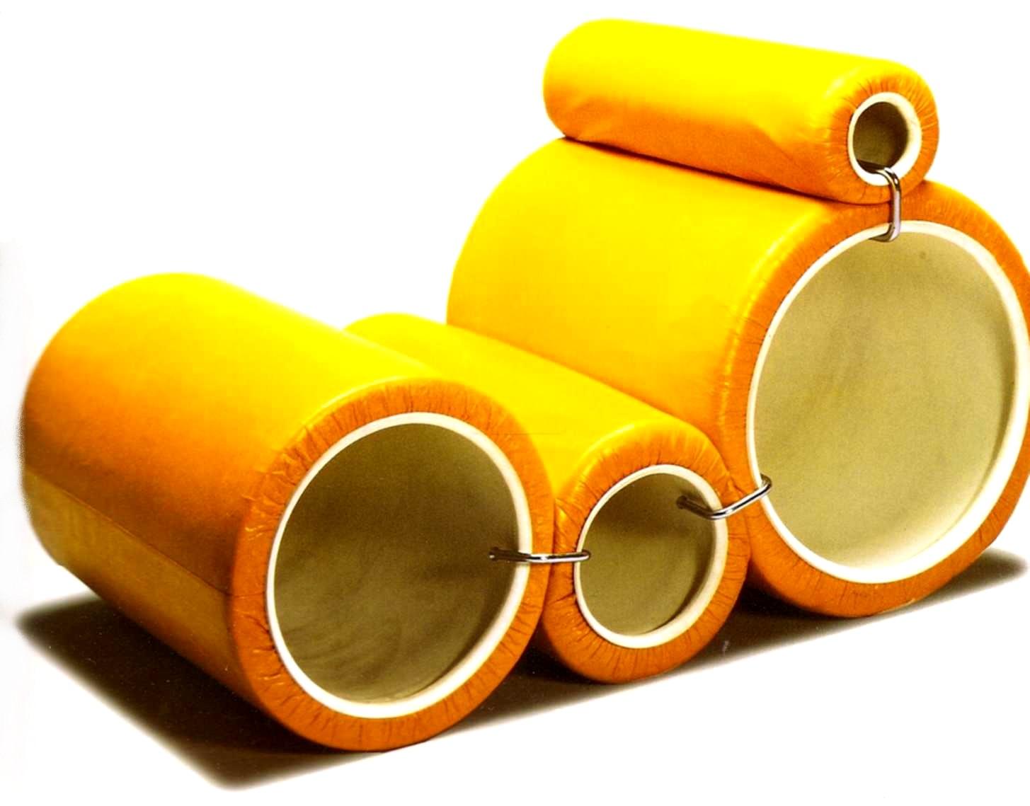Design ann es 60 tube chair de joe colombo lavieenrouge for Architecture annees 60