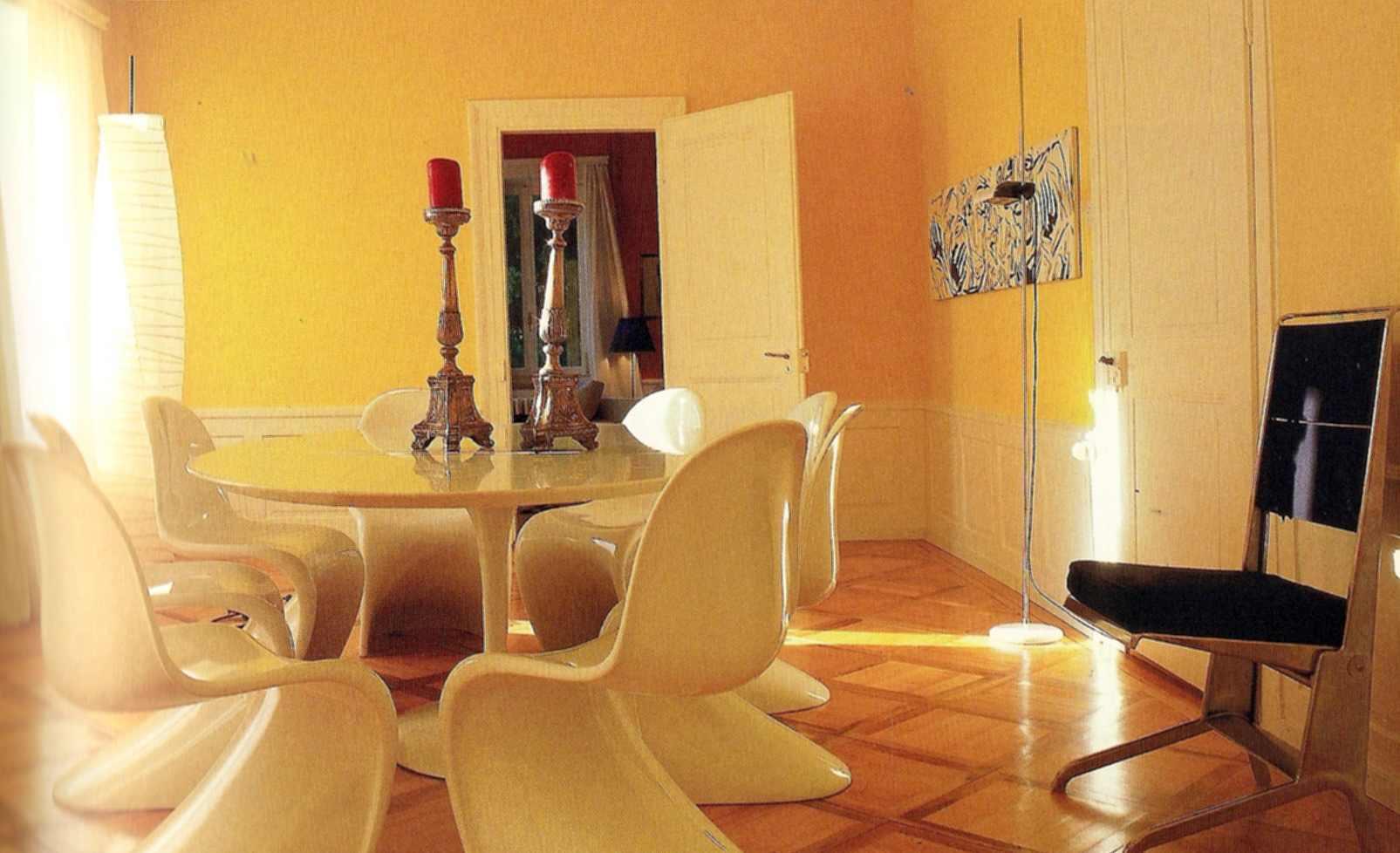 la chaise de verner panton victime de son succ s. Black Bedroom Furniture Sets. Home Design Ideas