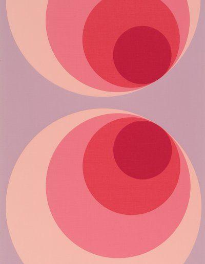 Papier peint tendance seventies succ s design fashion - Decoration chambre psychedelique ...